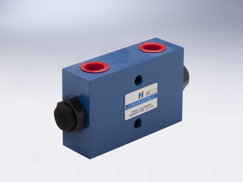 Hydraulic-operated check valves