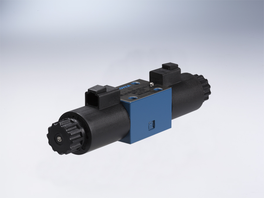 Waterproof electrical operated directional control valve