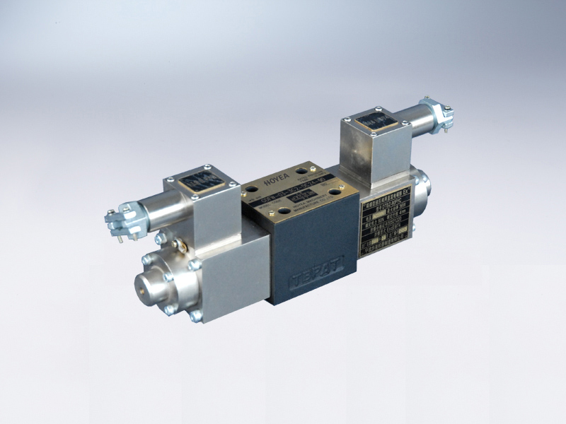 Explosion isolation solenoid directional control valve