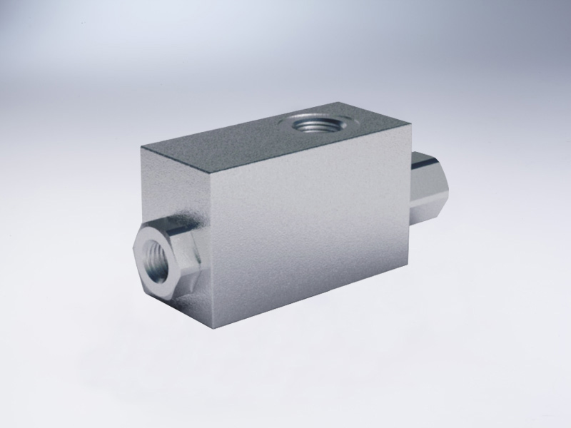 Single pilot operated check valves high pilot